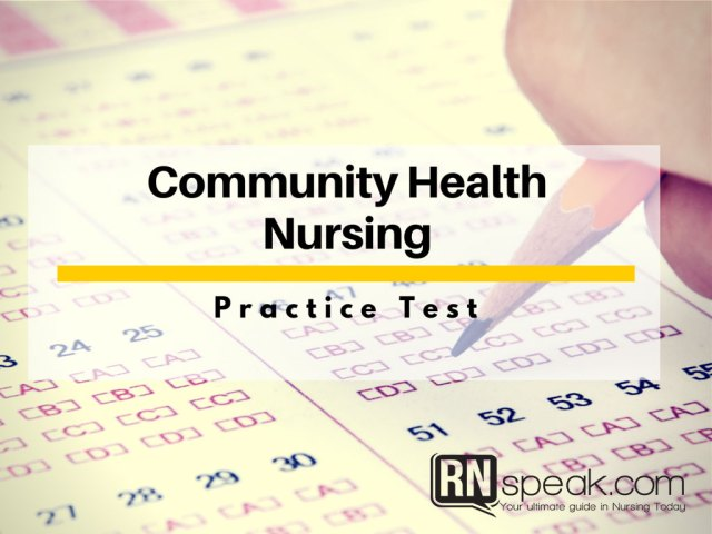 community-health-nursing-practice-test