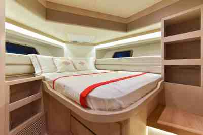 Nomad 55 Forward VIP Guest Cabin