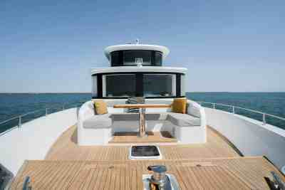 Nomad 65 SUV Bow Seating Area