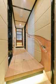 Majesty 90 Lower Deck Hallway