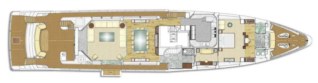 Main Deck Majesty 122