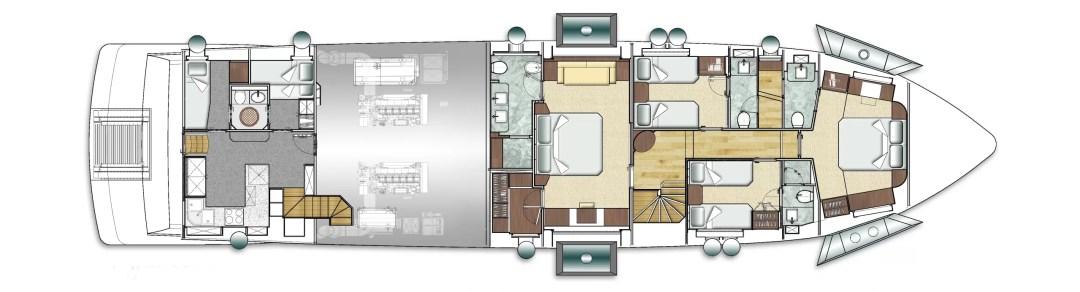 Majesty 90 deck plans 3