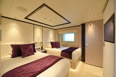 Majesty 120 Twin Guest Stateroom