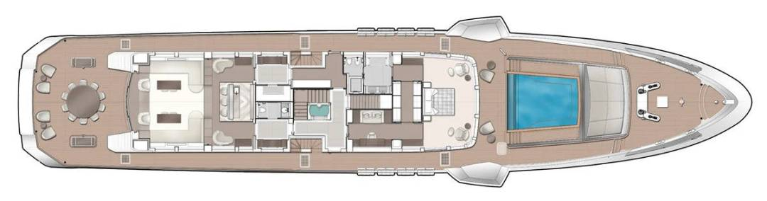 Majesty 175 Upper Deck