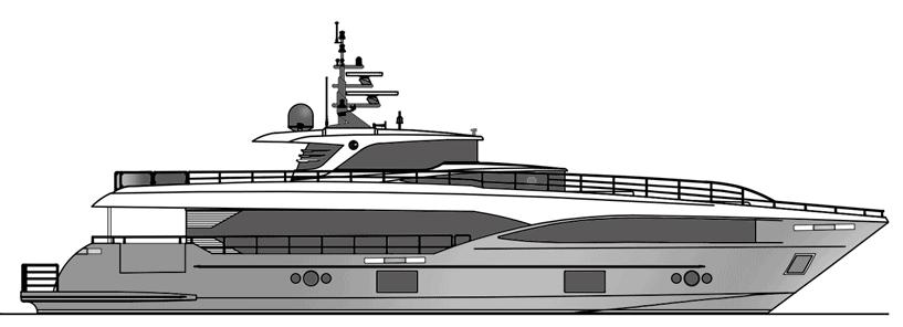Majesty Yachts 100 2D