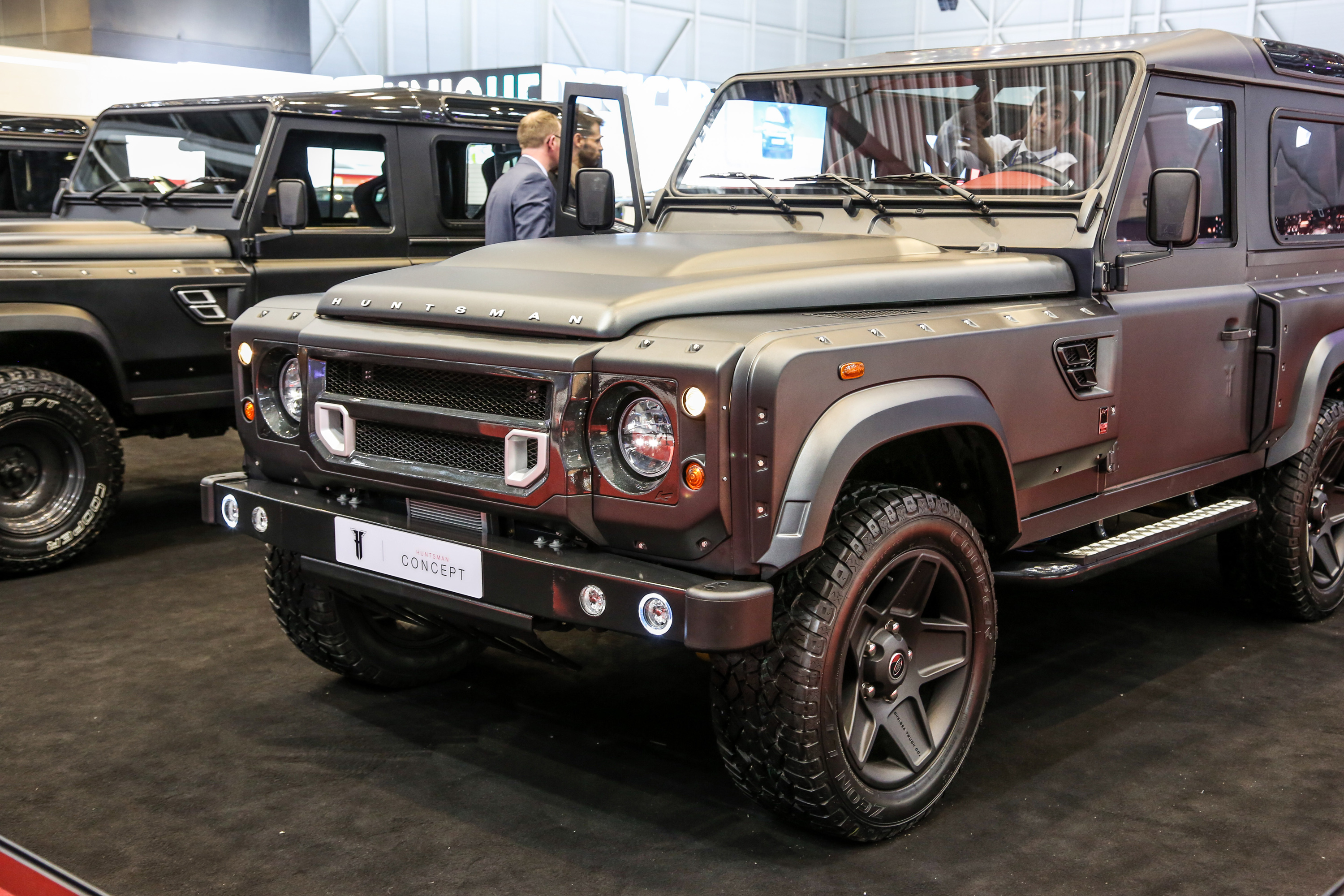 The 6x6 Land Rover Defender is just SO weird looking