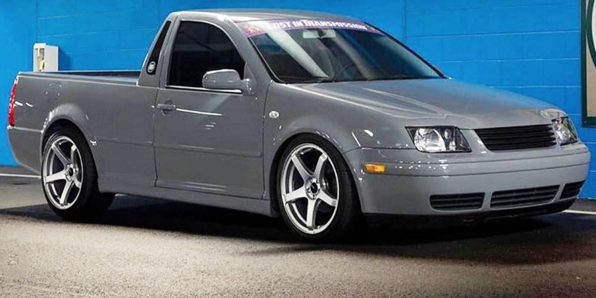 VW Jetta Ute conversion