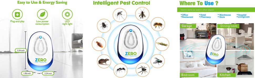 Zeropest Best Ultrasonic Pest Repeller