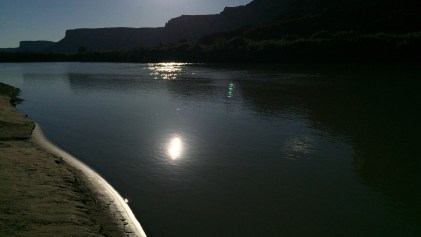 Am Ufer des Colorado Rivers