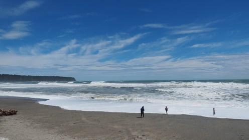 Die rauhe Tasman Sea