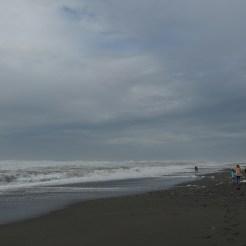 Der Strand von Hokitika