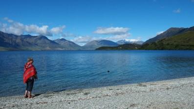 An den Ufern des Lake Wakatipu