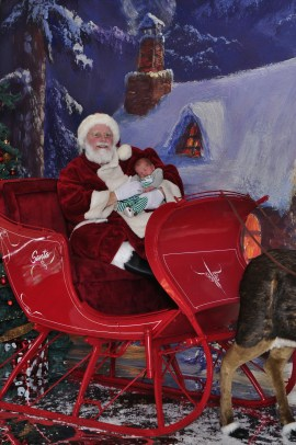 Elliott bei Santa