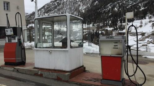 Diese Tankstelle wird wohl nicht mehr bedient