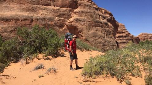 Unterwegs zum Leaping Arch