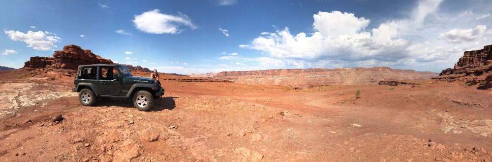 Auf dem Hurrah Pass bei Moab in Utah