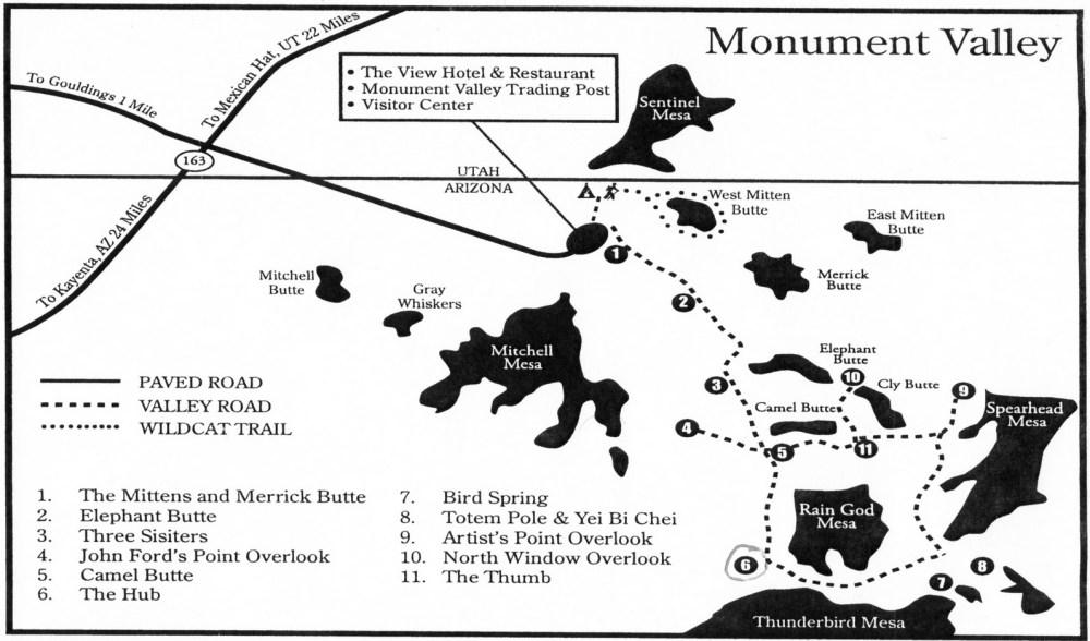 Monument Valley Rundweg