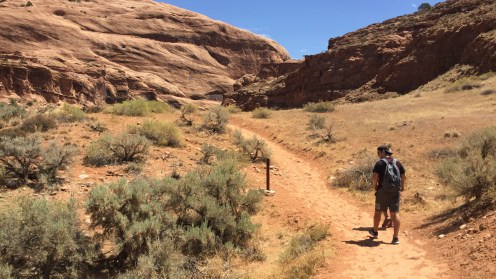 Mill Creek Waterfall Trail in Moab, Utah