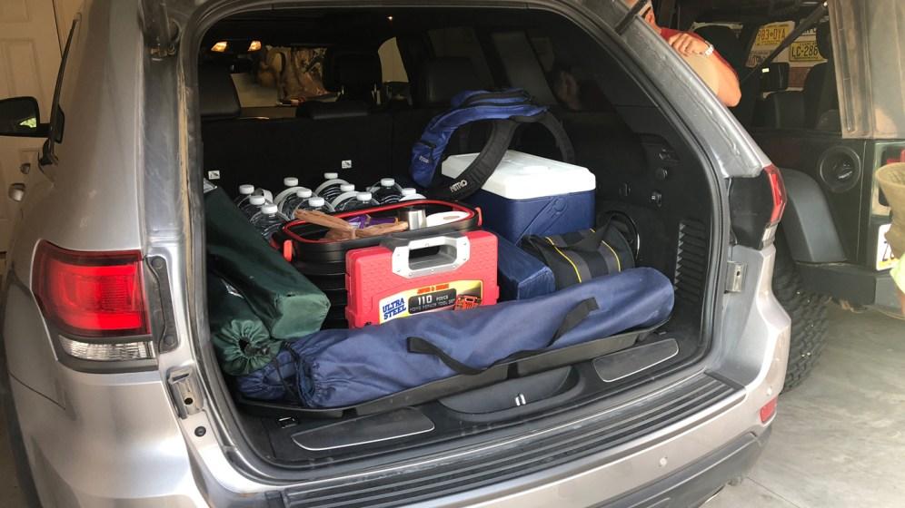 Vorbereitung für die White Rim Road im Canyonlands National Park