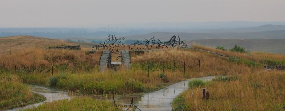 Indian Memorial im Little Big Horn Battlefield National Monument