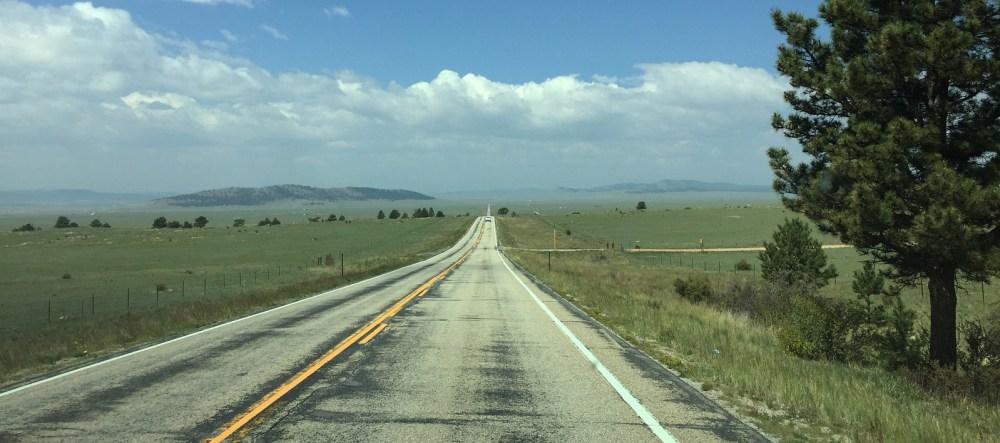 Auf dem Highway 24 in Richtung Buena Vista