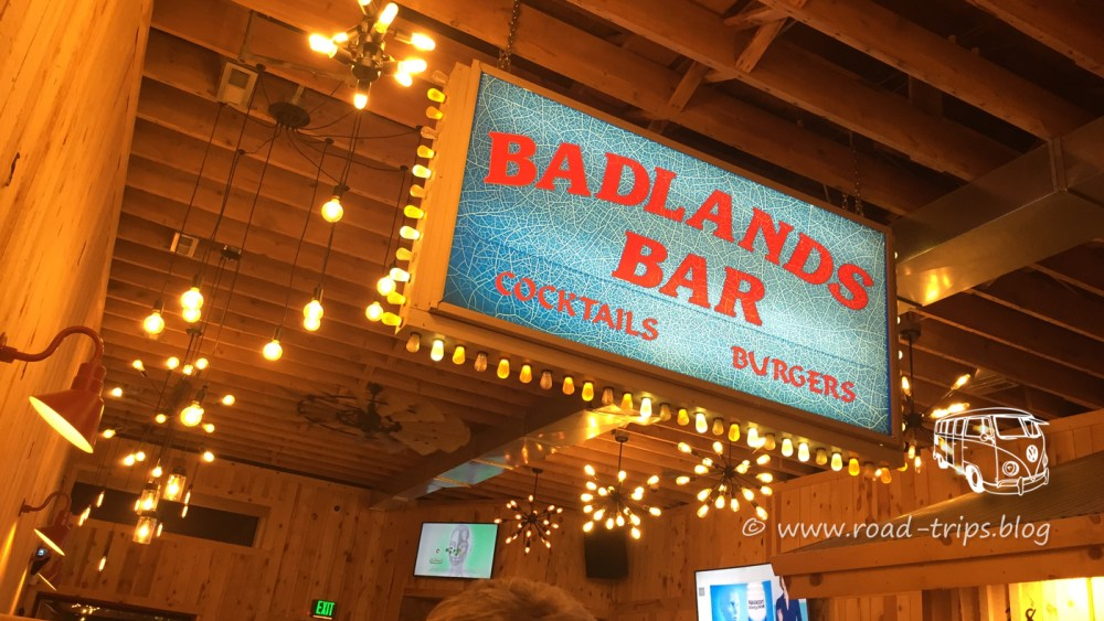 Badlands Bar in Wall