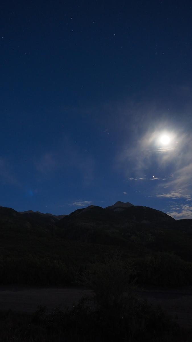 Vollmond über den La Sal Mountains