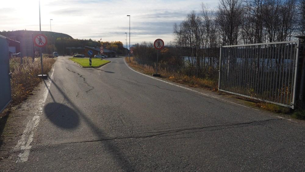 Russische Grenze bei Kirkenes