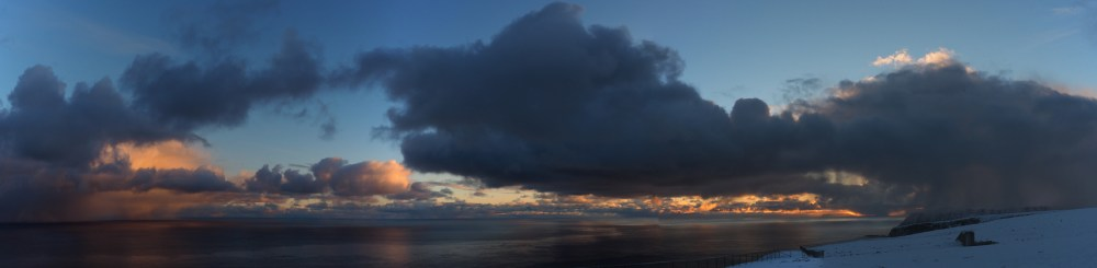 Sonnenaufgang am Nordkapp