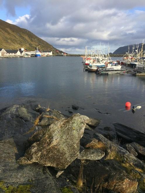 Im Hafen von Skarsvåg