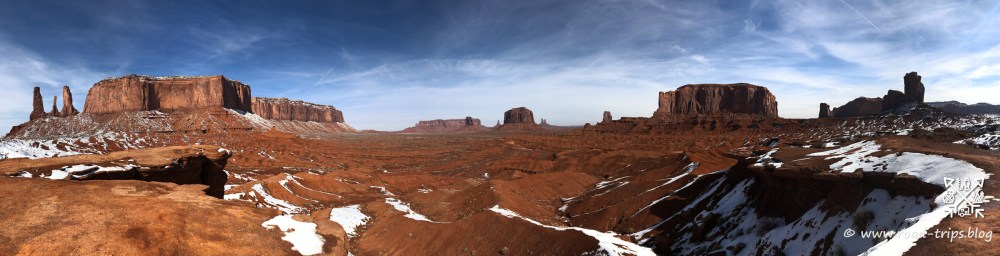 John Ford's Point Overlook im Monument Valley