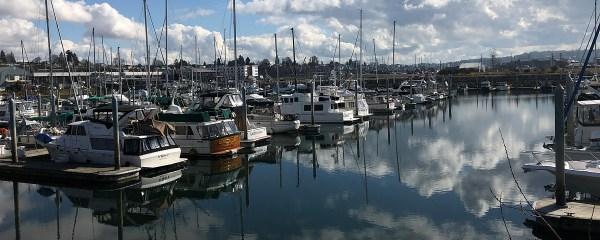Hafen von Everett