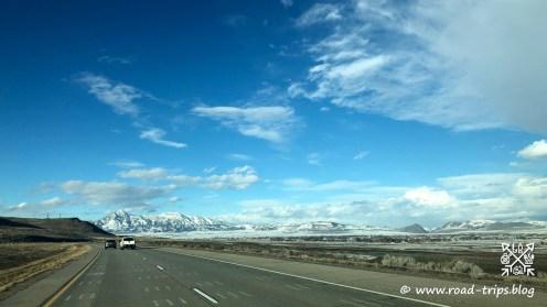 Nördlich von Salt Lake City