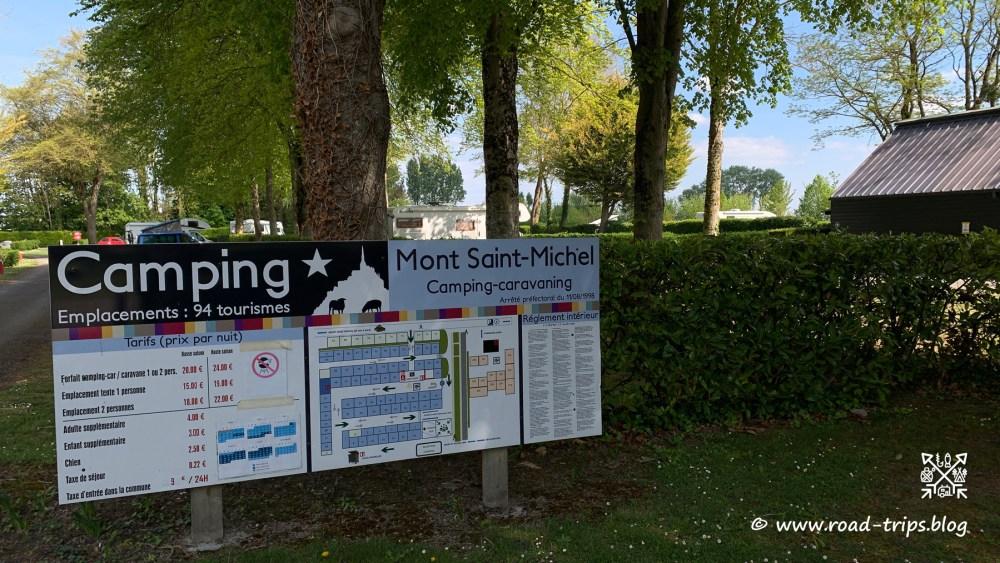 Camping du Mont Saint Michel