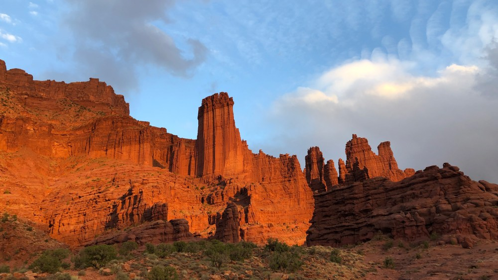 Fisher Towers im Castle Valley