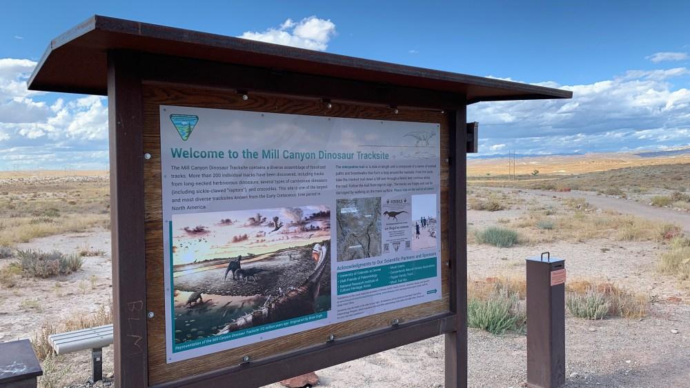 Mill Canyon Dinosaur Trails