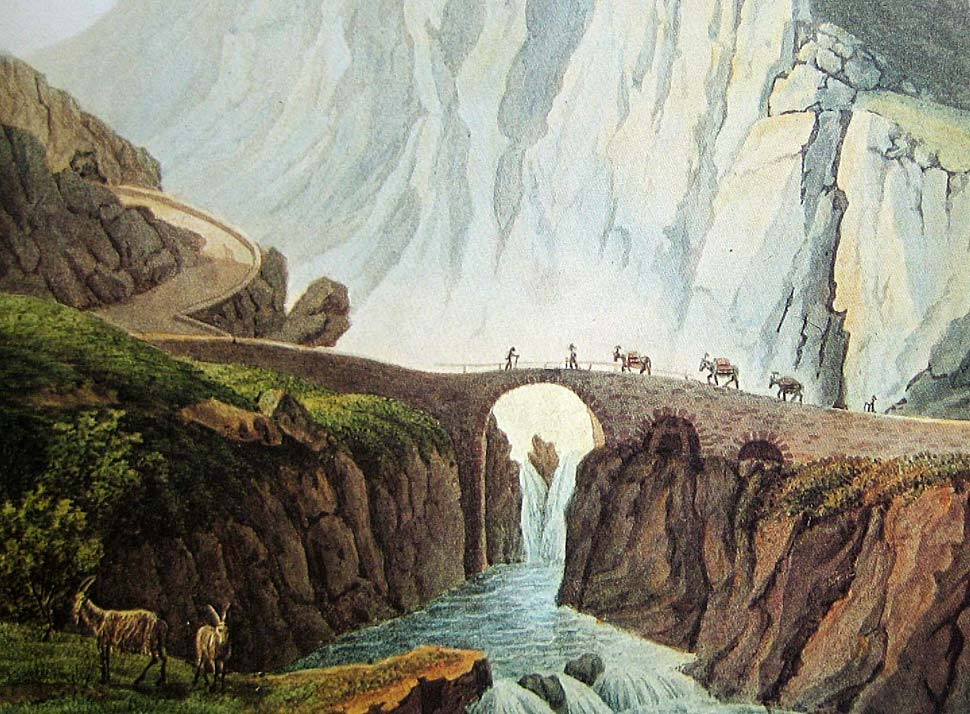 Erste Teufelsbrücke