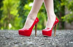 high heel tips