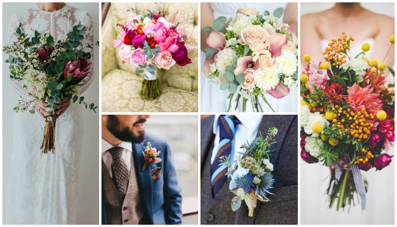 4 Unexpected Wedding Colour Combinations to Fire your Imagination