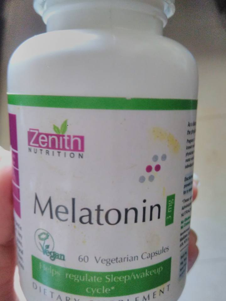 zenith nutrition melatonin supplement to sleep better