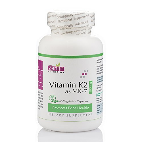 Zenith Nutrition Vitamin K2 as MK-7 Review for Bones and Heart