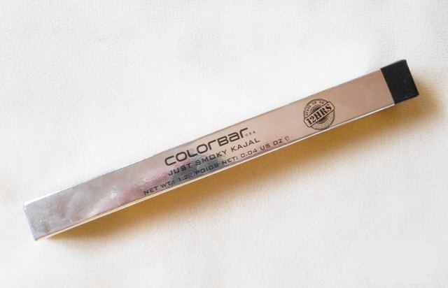 Colorbar Just Smoky Kajal Just Black Review