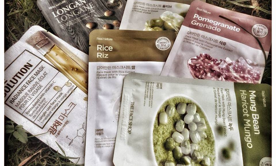 The Face Shop Real Nature Mask Sheets