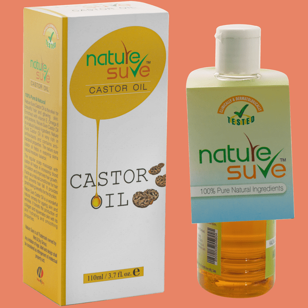 Nature Sure natural personal care products brand castor oil