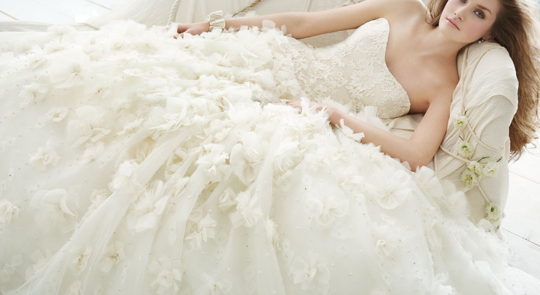 What does the color of your wedding dress means?