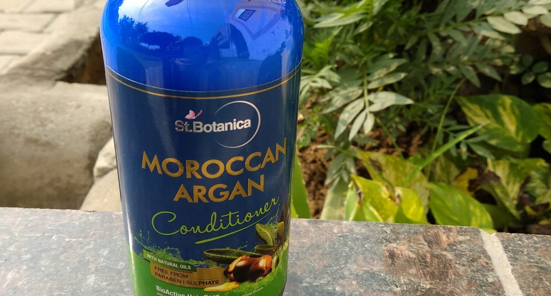 St.Botanica Moroccan Argan Oil Hair Conditioner Review