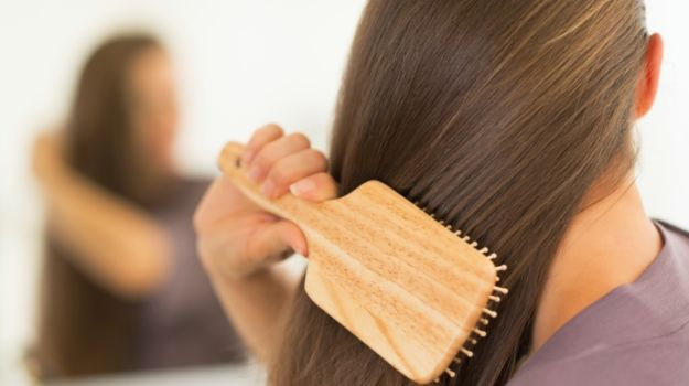 comb gently to prevent hair loss