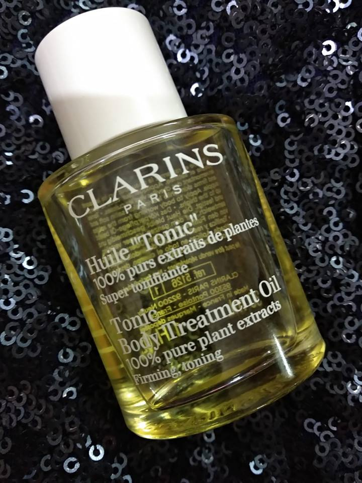 Clarins Tonic Body Treatment Oil Review