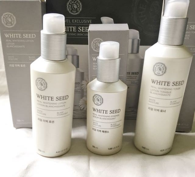 The Face Shop White Seed Brightening Skincare Range Review