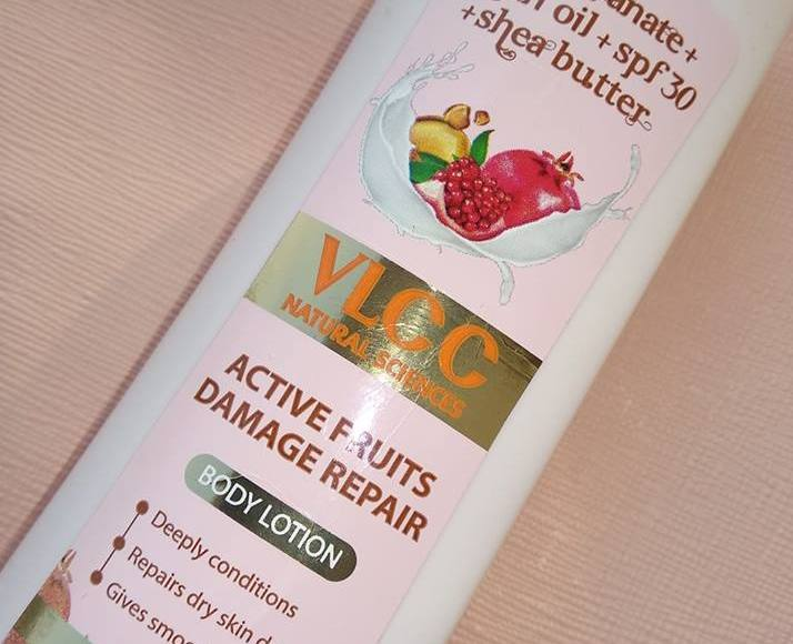 VLCC active fruits damage repair body lotion